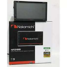 DOUBLE DIN NAKAMICHI 3101, cocok di avanza/mobilio/ertiga/apv/hiace