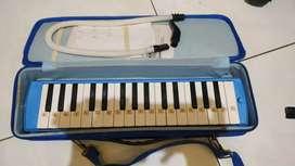 Jual Pianika warna biru Merk Marvel