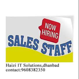 Urgent Hiring - Sales Person