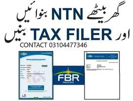 NTN bany or tax filer hugy