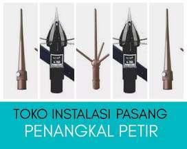 Agen on-line Pasang penangkal Petir terdekat Citangkil