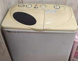 Powerful Samsung washing machine
