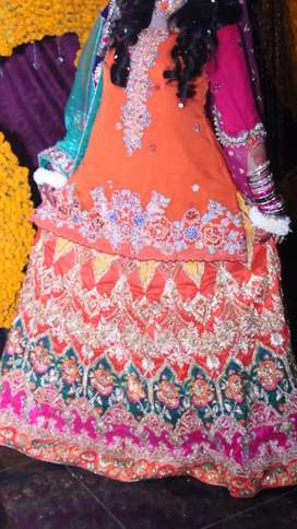 Mehndi dress for sale