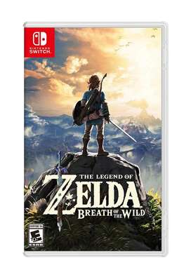 Zelda BOTW - Nintendo Switch Game - Brand New sealed @dtzone