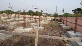 Bunglow Plot in Theur | Project is surrounded with many  localities