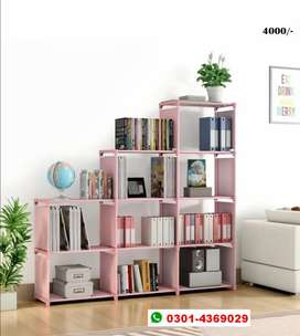 Book shelfs and books racks, storage wardrobe multilayer portable