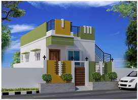 Individual House Villa 2 BHK Fully customised  Plan to your taste