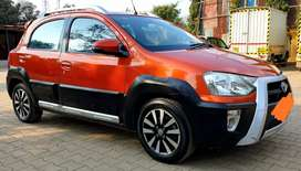 Toyota Etios Cross for sale in mint condition.