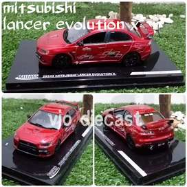 Diecast Miniatur Mitsubishi Lancer Evo X