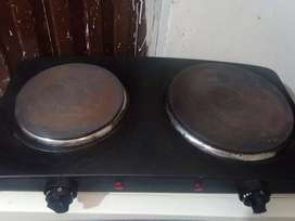 Electric double hot plate 2