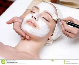 Beauty Care Service only for ladies and kids home services available