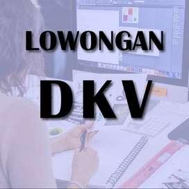Lowongan DKV / Design Komunikasi Visual / Desain grafis