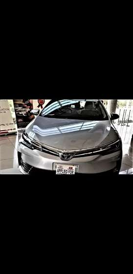 TOYOTA COROLLA ALTIS GRANDE 2017 AUTOMATIC ON EASY INSTALLMENT