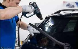 kaca film mobil mampu menahan panas