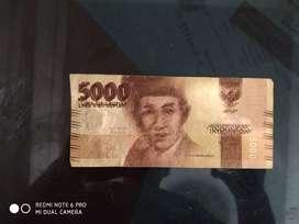 Uang salah cetak