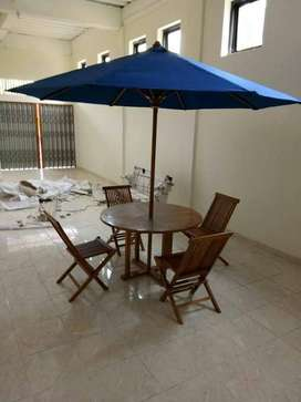 meja payung jati cafe