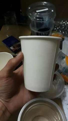 CETAK LOGO SERBA MURAH (Gelas Cup Kertas) 16oz