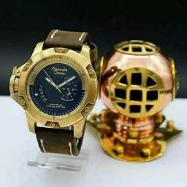 READY Jam tangan Alexandre Christie AC 6481 Bronzium Limited Edition