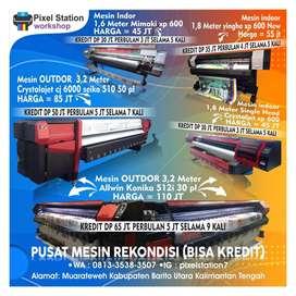 Jual mesin digitla printing outdoor dan indoor recondisi