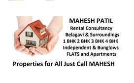 1-4 Bhk House & Flats & Apartments for Rent/Sale