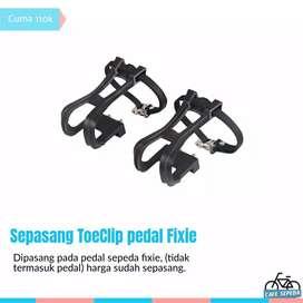 TOECLIP pedal sepeda fixie untuk skid atau trik