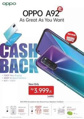 Cashback Berkualitas Dari OPPO