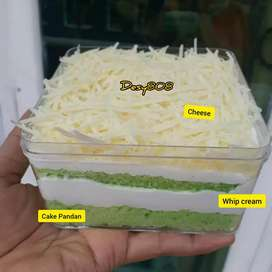 Milk cheese dessert box murah lezat enak