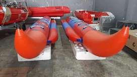 Banana boat 6 orang merk OCEAN perekatan WELDING ada pelindung samping