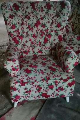 Sofa wingchair single, bisa request formasi