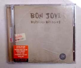 """CD BON JOVI """"BURNING BRIDGES"""".  ORIGINAL SEGEL"""
