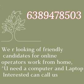 Providing Part time / Full time / Home based and Office based jobs