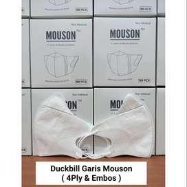 Masker Duckbill Mouson Garis Hidung