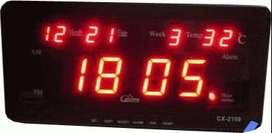 Digital LED Clock CX-2158 ( Bulan+Hari+Minggu+Temperature ) ID3