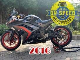 CASH CREDIT jual motor moge kawasaki ninja 250 fi 2016 SE ABS low km