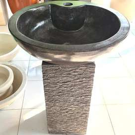 Washtafel Batu Alam