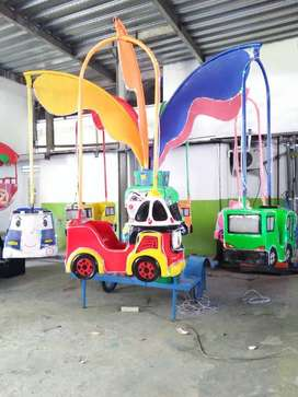 PROMO odong komedi safari gerbong fiber wahana mainan mini coaster iiw