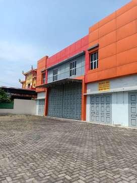 Gudang 3 in 1, lokasi deket sama Tol Tanjung Mulia