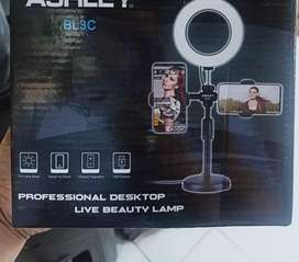 Professional desktop live beauty lamp