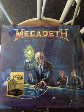 Vinyl / Piringan Hitam Megadeth - Rust in Peace