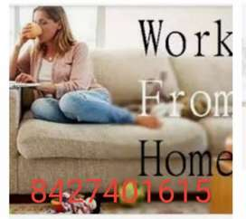 )Don't find jobs we are offering you home based job no qualification