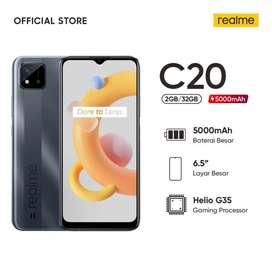 Realme C20 RAM 2GB ROM 32GB,Garansi Resmi