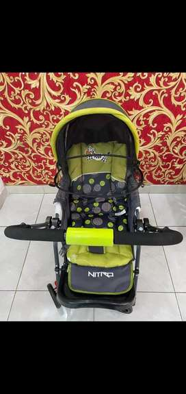 Stroller/kereta bayi merk Pliko Nitro