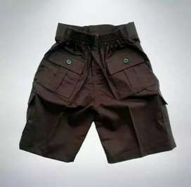 Celana pendek pdl/ gembes saku 6