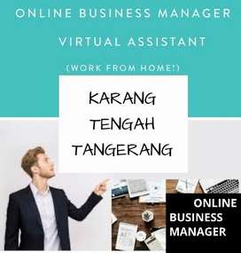 LOWONGAN KERJA > ONLINE BUSINESS MANAGER AREA KARANG TENGAH TANGERANG