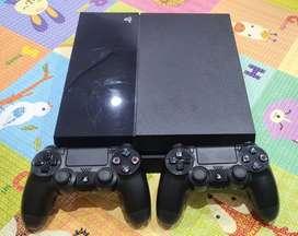 PS4 Fat 500GB Langsung pakai