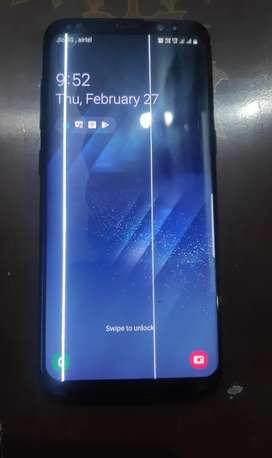 Samsung S8 Out Of Warranty & Display Lining Hai