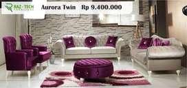 Sofa Cantik Tipe Aurora Twin