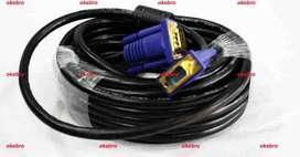 new kualitas kabel vga model terbaik bagus panjang 20 meter 250rbu