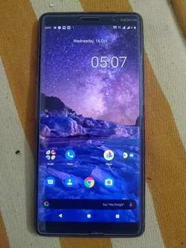 Nokia 7+ 2018 with no scratches and flaws