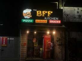 Cook chahiye fast food k liye